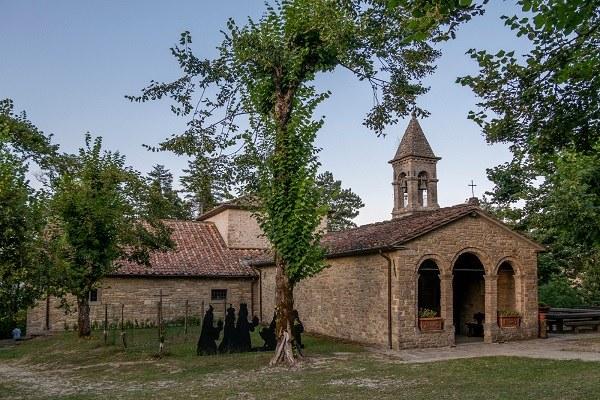 Bagno di Romagna (Fc): Santuario di Corzano