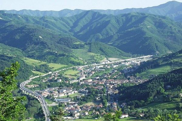 Bagno di Romagna (Fc): panorama San Piero in Bagno