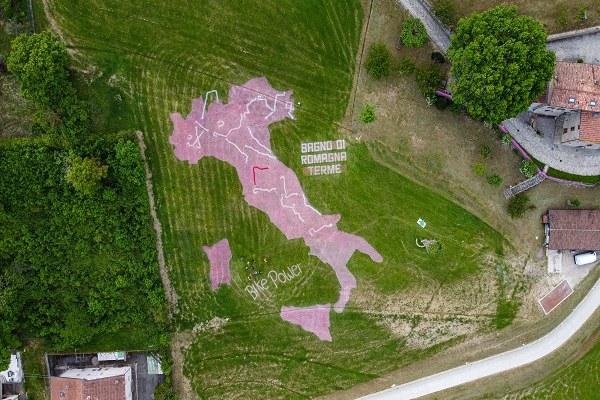 Bagno di Romagna (Fc): Giro d'Italia 20 maggio 2021