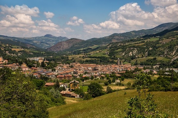 Bobbio (Pc): dalla strada per la Valle del Carlone