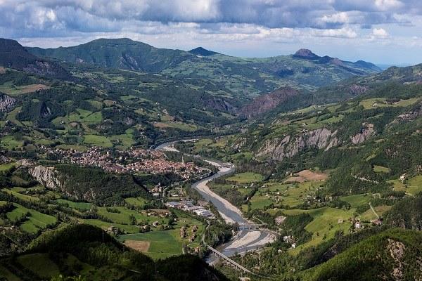 Bobbio (Pc): Bobbio e la Val Trebbia