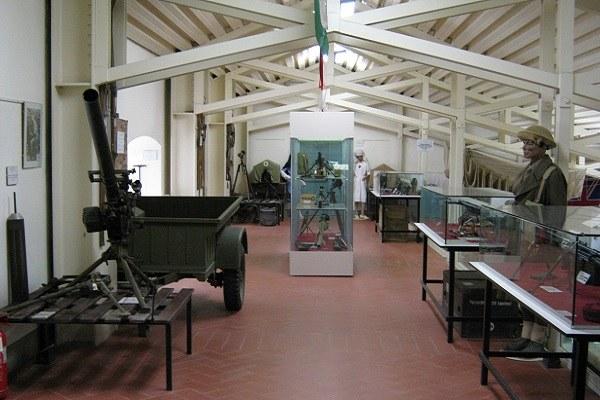Castel del Rio (Bo): interno Museo della Guerra Linea Gotica