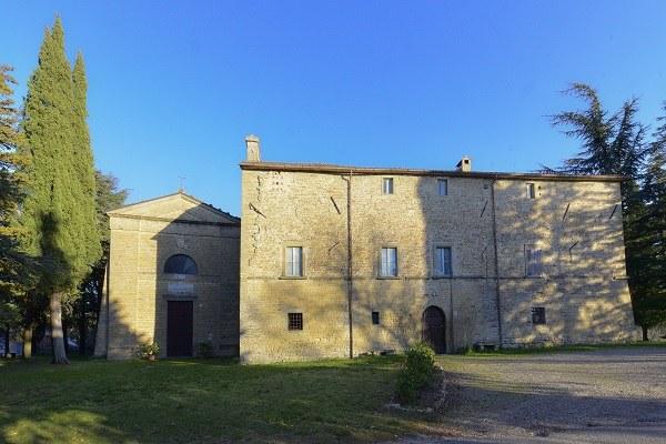 Rocca San Casciano (Fc): Abbazia di San Donnino in Soglio