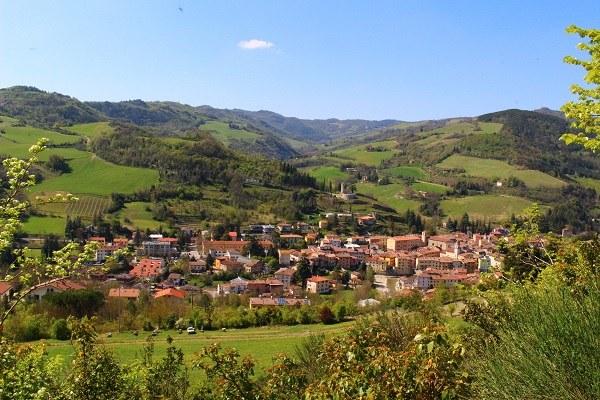 Rocca San Casciano (Fc): panorama