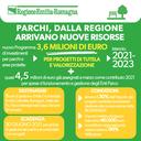 Parchi, dalla Regione arrivano nuove risorse. 3,6 milioni di euro per progetti di tutela e valorizzazione