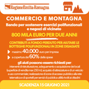 Commercio e montagna: bando per sostenere esercizi polifunzionali e negozi di vicinato