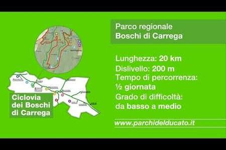 """Le """"Ciclovie dei Parchi"""" della Regione Emilia-Romagna"""