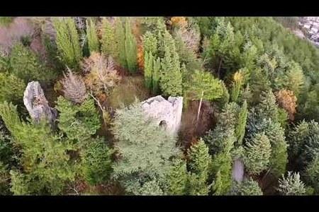 Bagno di Romagna (Fc): Eremo di Corzano in autunno