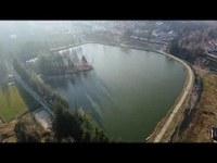 Bagno di Romagna (Fc): Lago Acquapartita in autunno